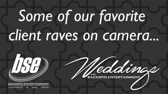 Some of our favorite client raves on camera